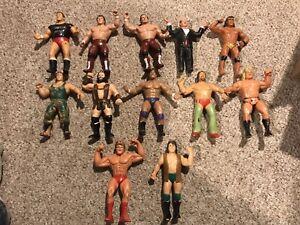 Lot 12 WWF LJN Superstars British Bulldogs Terry Funk Jimmy Snuka