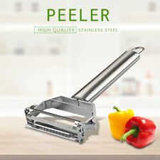 Stainless Steel Peeler Set Potato Vegetable Fruit Serrated Julienne Strip Cutter