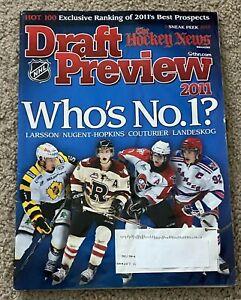 Hockey News Magazine Draft Preview 2011 Nugent-Hopkins Couturier Landeskog