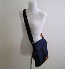 TUMI 055801 Mens Sherman Navy Nylon Expandable Messenger Shoulder Bag Crossbody