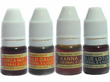 8 ml Areca Nut, Wild Dagga, Kanna, Blue Lotus SET017 Herbal tincture, VG and PG