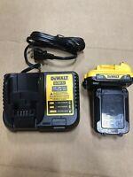 2 NEW DeWALT DCB122 12V MAX Xtreme 2.0 Batteries FUEL GAUGE & DCB112 Charger