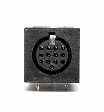 50pc Mini DIN Jack Connector Socket Female 3P 3pin Signal #2007-3 DK Taiwan