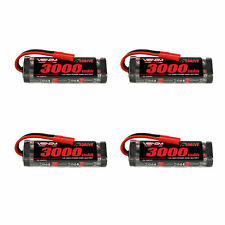 Venom 7.2V 3000mAh NiMH Battery with HXT 4.0mm Plug x4 Packs