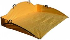Ez Lawn and Garden 6 ft. x 4 ft. Leaf Hauler Collector Tool Compact Easy Storage