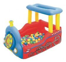 Petit train gonflable + 50 balles - Bestway