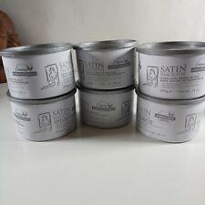 6 pack Satin Smooth Zinc Oxide Wax 14oz Free ship