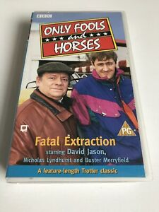 Only Fools And Horses Fatal Extraction VHS Video PG