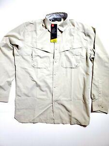 Under Armour Tide Chaser Long Sleeve Shirt UA Fishing 1290744-289 Mens SZ Medium