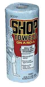 Scott Shop Towels-on-a-Roll (30 Rolls) 75130