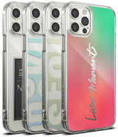 For iPhone 12 / Pro / Max / Mini Case | Rinkge [Fusion Design] Slim Thin Cover