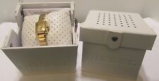 NEW!  Diesel Women's Bracelet Watch Ursula Square Gold-tone DZ5424