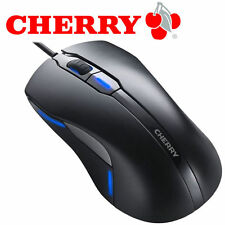 CHERRY MC4000 corded Mouse USB  - Maus 6 Tasten - verkabelt - USB - black - NEU