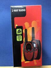 1 PAIR!! FLOUREON Walkie Talkie 22 Channel FRS/GMRS 2-Way Radio 3 Miles Range
