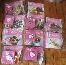 Hello Kitty Party Magazine w Crockery 10 Sealed Issues Bowls Tea Cups etc