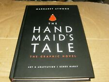 The Hand Maid's Tale The Graphic Novel, Margaret Atwood HB Book Mature Content.