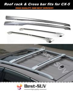 Fits for Mazda CX-5 CX5 2012-2016 Crossbar Cross bar Roof Rack Baggage Rail Kit