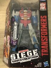 Starscream Transformers SIEGE War for Cybertron TRILOGY Voyager Damaged Box New