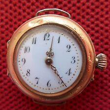 hübsche, frühe, goldene (14 K) DAMEN-ARMBANDUHR, ca. 1920