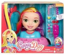 Fisher-Price Sunny Day Styling Head Hair Stylist Doll Accessories Crimper Brush