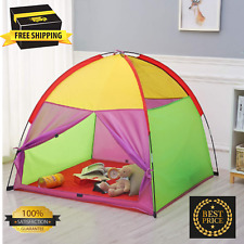 Kids Play Tent Camping Indoor/Outdoor Children Playhouse for Boys and Girls