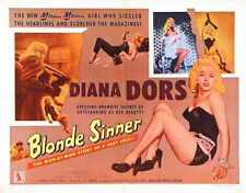 Blonde Sinner Poster 05 Metal Sign A4 12x8 Aluminium