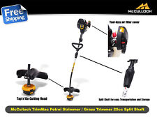 McCulloch TrimMac Petrol Strimmer / Grass Trimmer 25cc Split Shaft Trim Mac