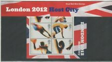 LONDON 2012 HOST CITY PRESENTATION PACK STAMPS 2005