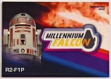 2018 Topps Star Wars Solo: Star Wars Story R2-F1P Patch Millenium Falcon MP-R2M