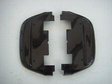 Black Rear Footboard covers Harley-Davidson FLH Touring & FL Soft 1987-11 651809