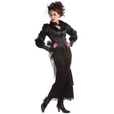 LADIES STEAMPUNK #VICTORIAN EDWARDIAN LADY ONE SIZE OUTFIT FANCY DRESS