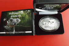 Selten!Fiji 10 Dollars 2013 1 Oz Silber * Fascinating Wildlife/ Koala