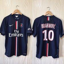 PARIS SAINT GERMAIN 2014 HOME FOOTBALL SHIRT NIKE 618757-411 #10 IBRAHIMOVIC