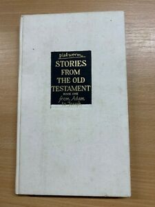 "1958 1ST EDITION PIET WORM ""STORIES OF THE OLD TESTAMENT"" HARDBACK BOOK (P3)"