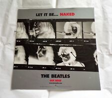"""The Beatles ' Let It Be...Naked '   Promo Display Flat 12"""" x 12"""""""