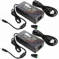 2x 12V DC 10A 10 amp 120W POWER Supply ADAPTER Transformer for LED Strip, CCTV