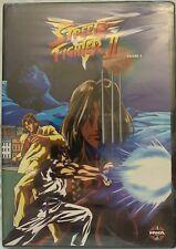Street Fighter II V, Volume 4 (DVD - Brand New) Episodes 22-29