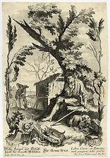 Antique Print-CLASSICAL HISTORY-POOR IRUS-Goetz-Setlesky-ca. 1750