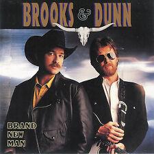 Brooks & Dunn ~ Brand New Man ~ CD ~ 1991 Arista Records ~ FREE Shipping USA