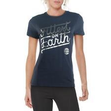 Reebok para mujer más poderosos en la tierra Algodón Entrenamiento fitness T-Shirt Atlético BHFO 2016
