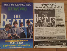BEATLES-EIGHT DAYS A WEEK THE TOURING YEARS JAPANESE PROMO FILM POSTER-A4 SIZE