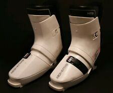 Salomon HTC SX 62 Downhill White Pink Grey Ski Boots US 1010.5 VINTAGE | eBay