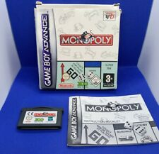 Monopoly Ovp Nintendo Game Boy Advance