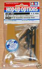 Tamiya 53791 DF-02 Assembly Universal Shaft (DF02/DF03/TT02B/Dark Impact), NIP