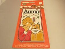 Vintage 1981 Annie Light Switch Plate MOC (SEARS)