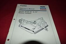 Ford Tractor 953B Rotary Cutter Operator's Manual CHPA