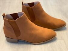 🆕❤️Simply Be Ankle Boots Size Uk 7 Camel EX WIDE FIT BRAND NEW