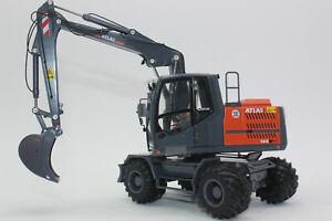 AT3200150 Atlas 160 W Radbagger Mobilbagger mit Nokian Reifen 1:32 NEU in OVP