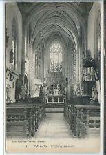 CP 80 Somme - Folleville - L'Eglise (Intérieur)