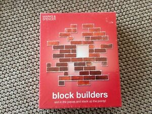 New  M&S Block Builders Game